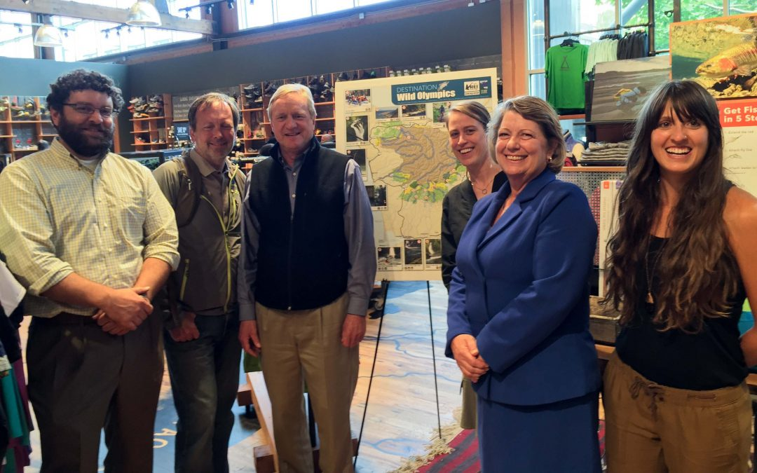 "Peninsula Economic Leaders, REI & Patagonia Unveil New  ""Destination Wild Olympics"" Map for Summer Recreation Season"
